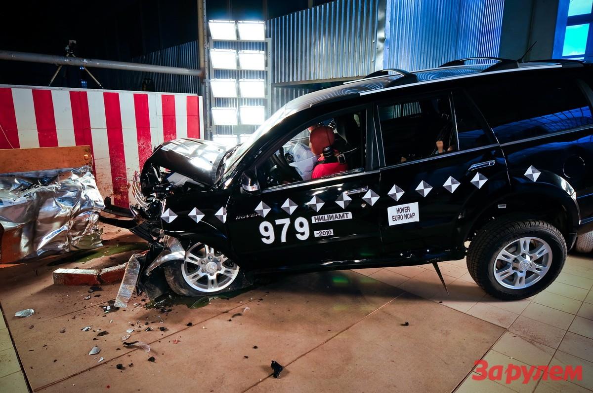 Great Wall Hover H3: краш-тест EuroNcap (ВИДЕО) - журнал За рулем