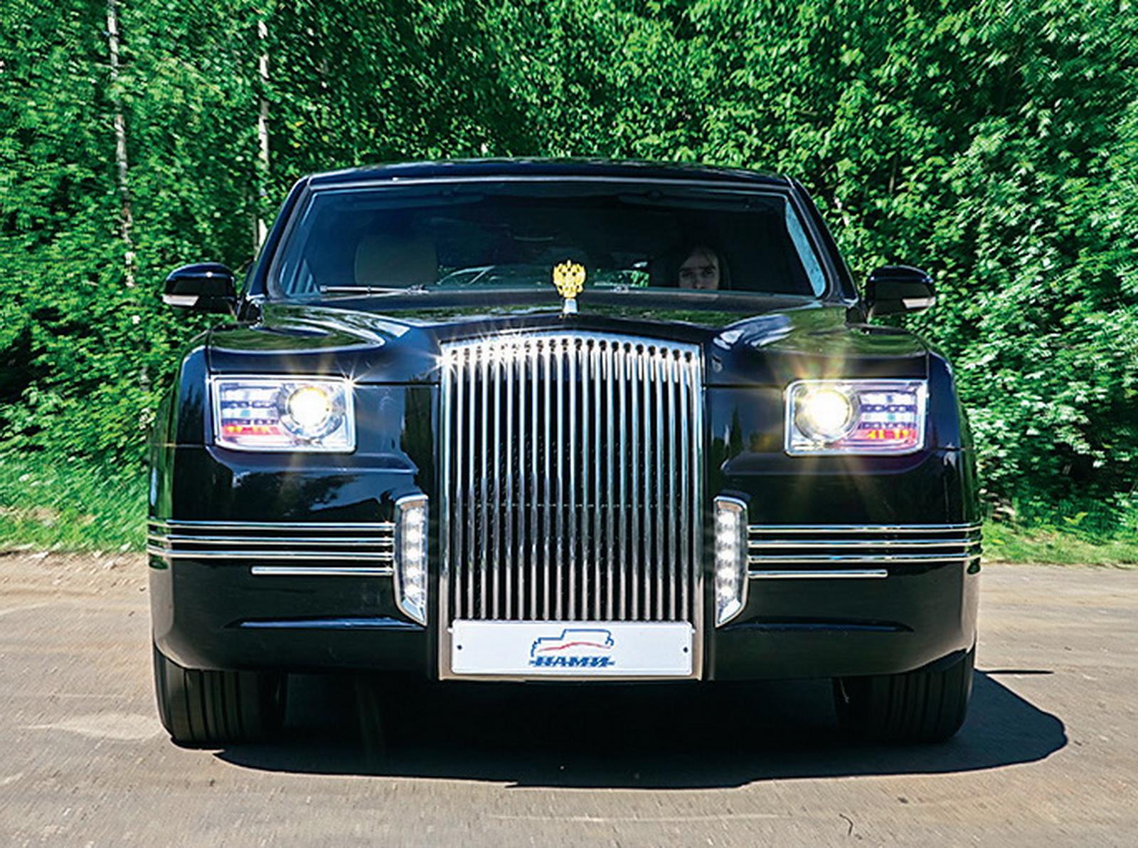 кортеж автомобиль президента фото