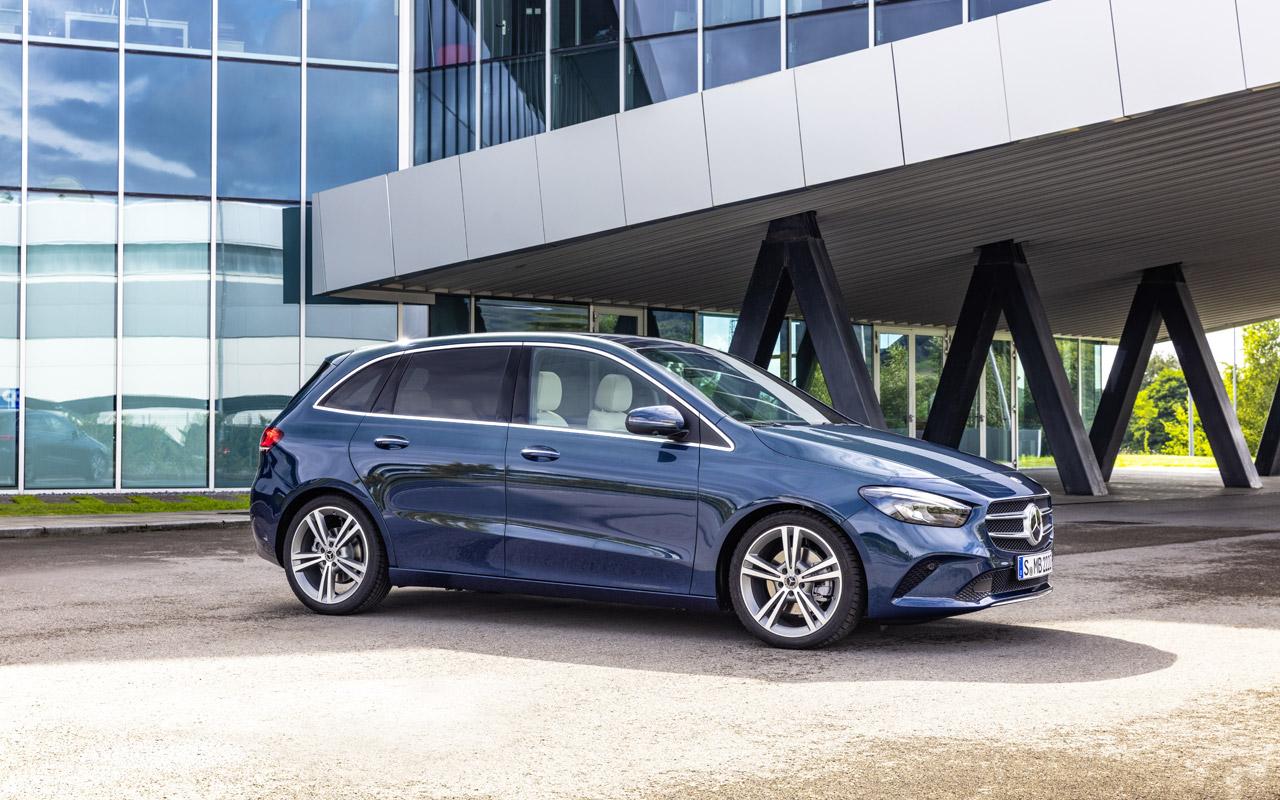 Новый Mercedes-Benz: B-класса: он получил опции от роскошного S-класса