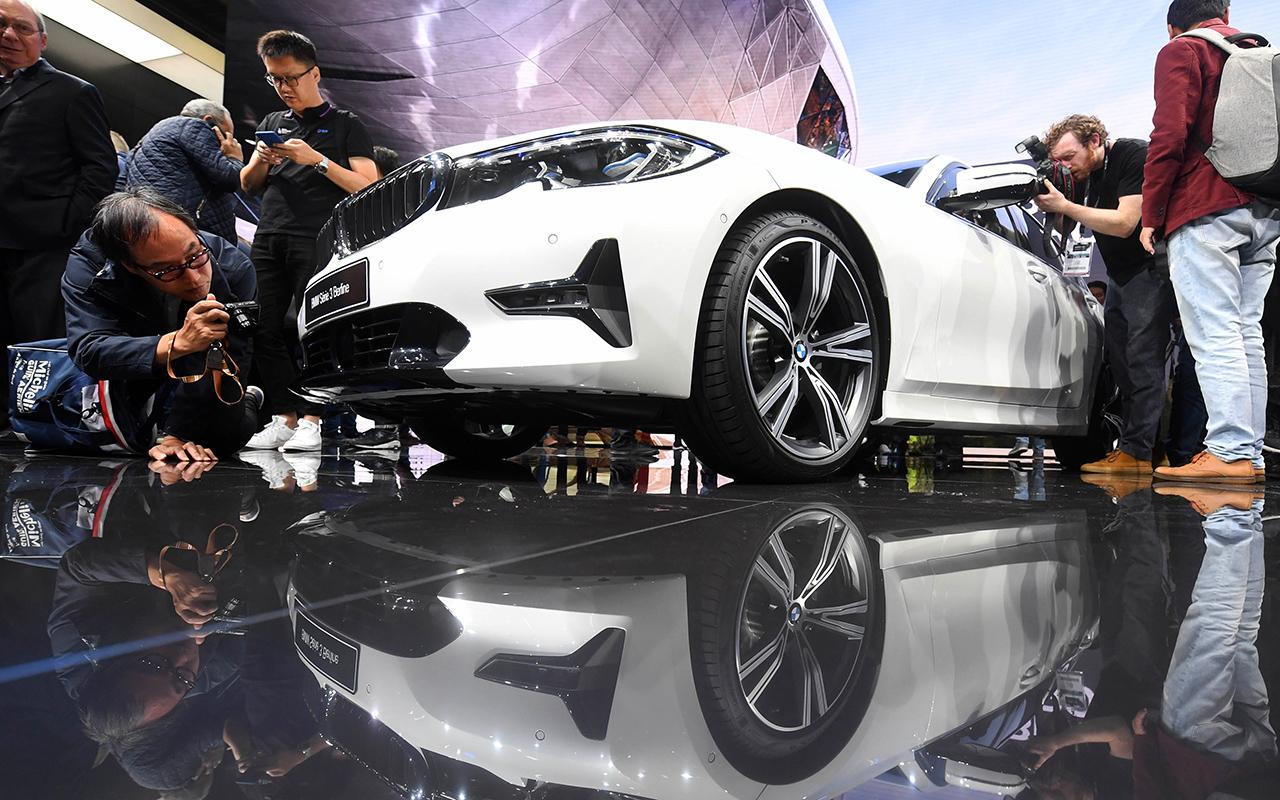 Новый BMW 3-й серии и другие звезды Парижского автосалона 2018