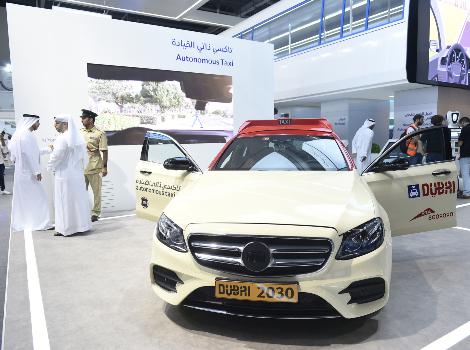 В Дубае заработал сервис беспилотного такси