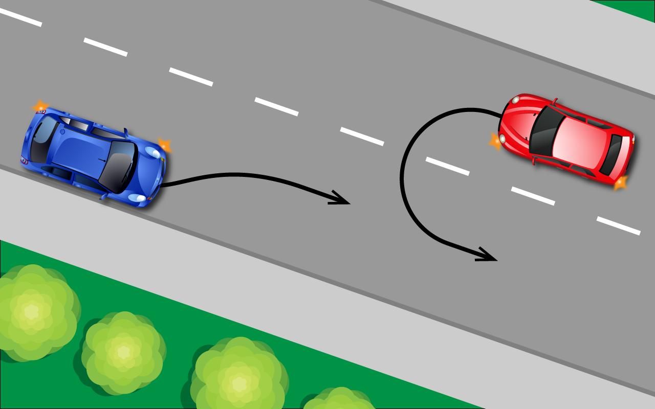 Спорные ситуачии дорожного движения
